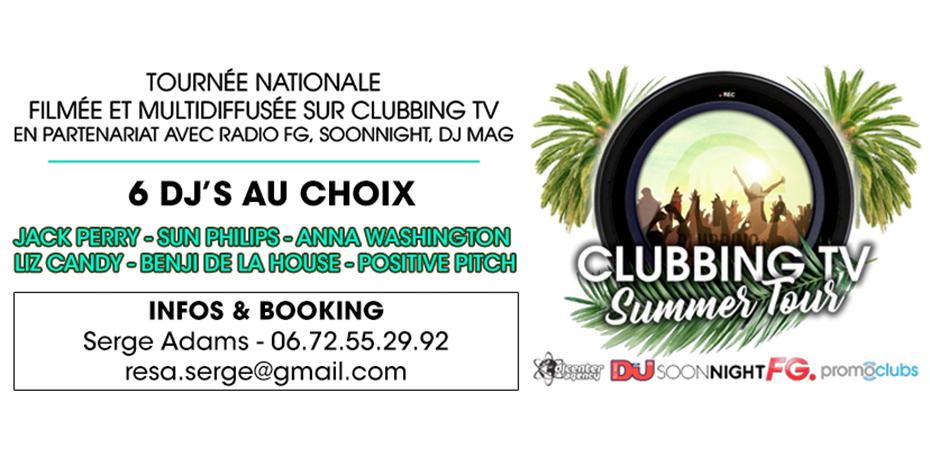 Clubbing Tv Summer Tour 2017