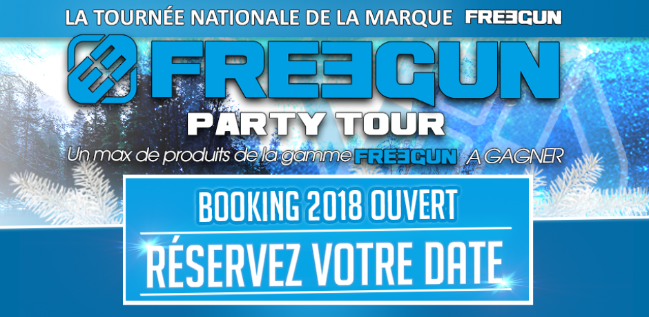 Freegun party tour 2018