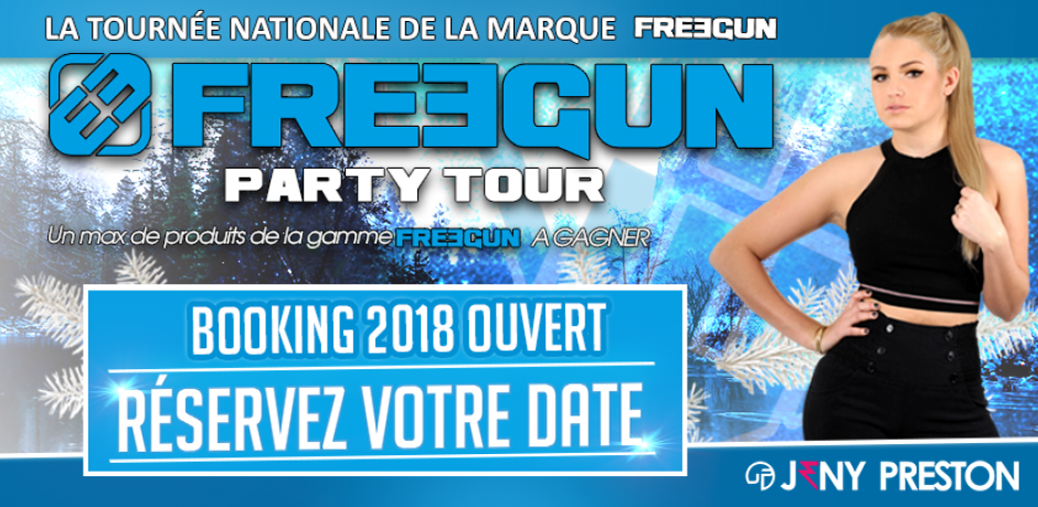 Freegun Party Tour 2018 Jeny Preston