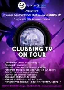 CLUBBING TV TOUR