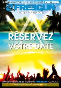 FREEGUN PARTY TOUR 2018 SUMMER Reservez votre date